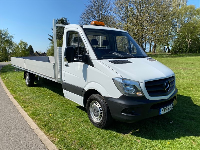 used Mercedes Sprinter 314CDI 3.5T EURO 6 NEW 20ft **EXTRA LONG 20FT** DROPSIDE BODY in walsall