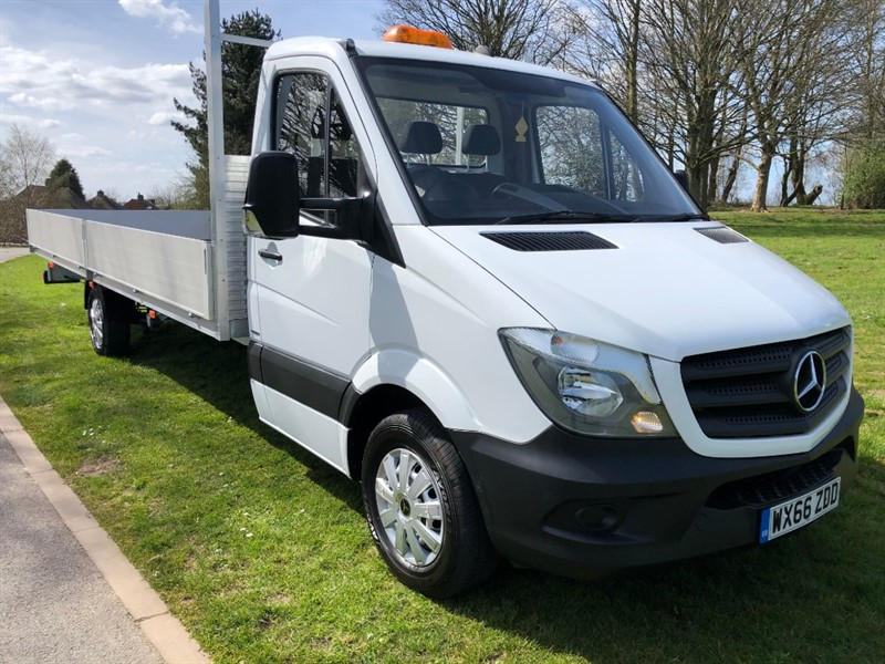 used Mercedes Sprinter 314Cdi 3.5T Euro 6 NEW **EXTRA LONG 20ft** Dropside Body in walsall