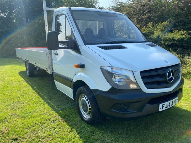 used Mercedes Sprinter 313Cdi 3.5t. 20ft (6M.) ***EXTRA LONG *** Dropside Body, 1 Owner, Full History in walsall