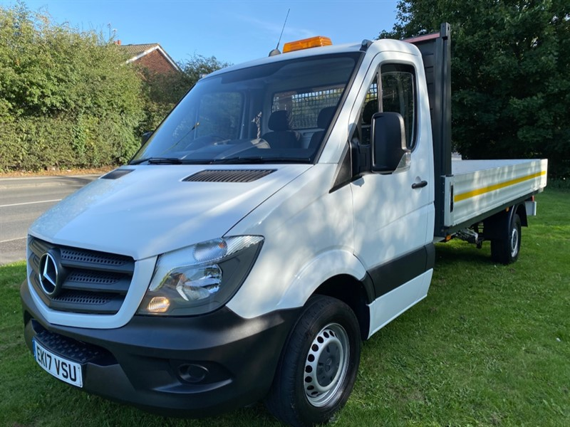 used Mercedes Sprinter 314Cdi 3.5t Euro 6 14ft (4m.) Dropside 1 Owner, Only 28399 Miles in walsall