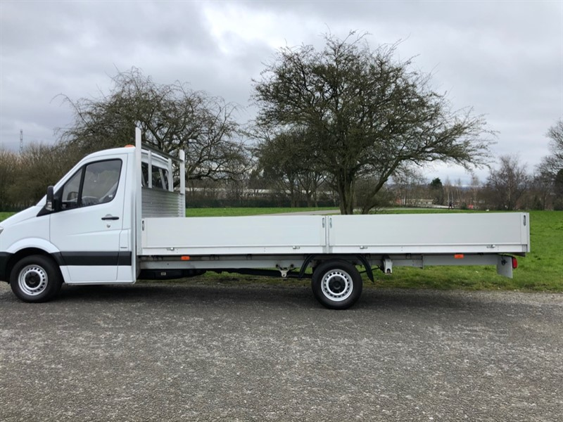 used Mercedes Sprinter 314CDI 3.5t. 17ft Extra Long Dropside, Euro 6 in walsall