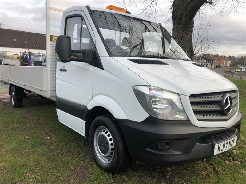 used Mercedes Sprinter 314Cdi 3.5t Euro 6 Extra Long  20ft Dropside in walsall