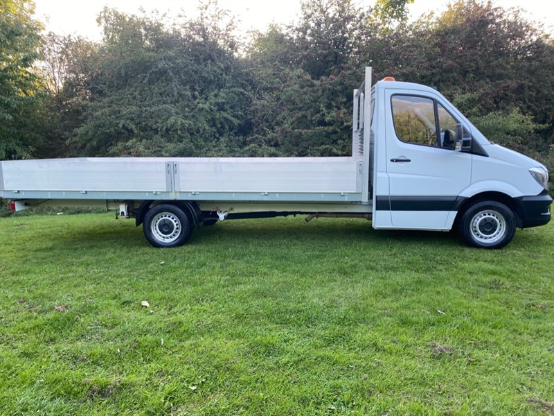 used Mercedes Sprinter 314Cdi (Euro6) 3.5t. 17ft (5m.) ***EXTRA LONG *** Dropside, 1 Owner in walsall