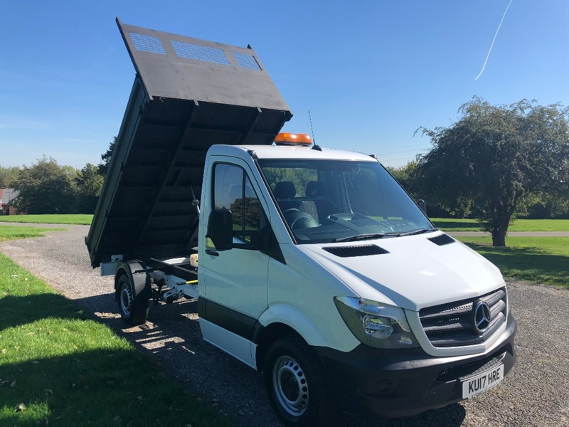 used Mercedes Sprinter 314Cdi 3.5T Euro 6 Dropside Tipper in walsall