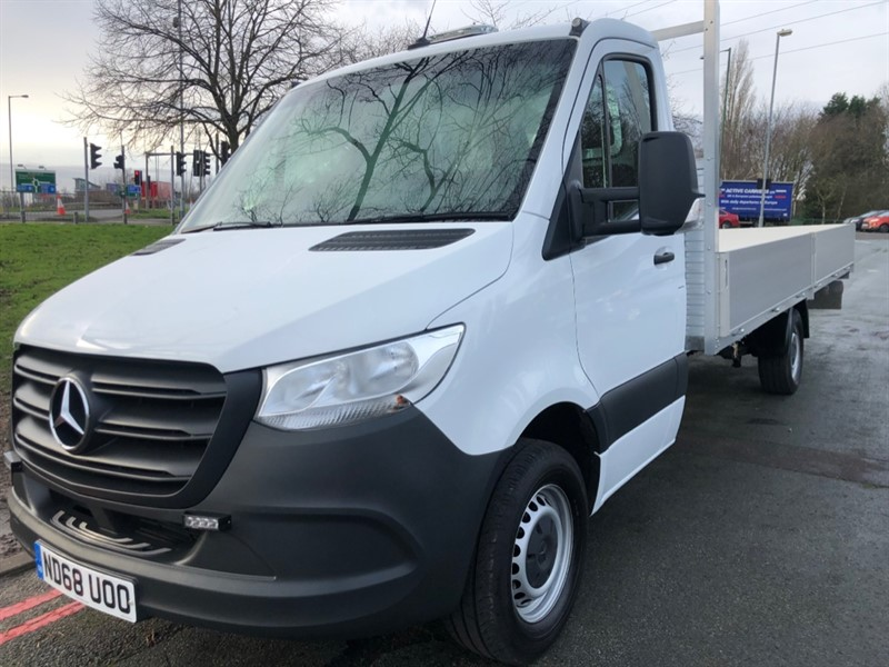 used Mercedes Sprinter 314Cdi 3.5t New 17ft Extra Long Dropside in walsall