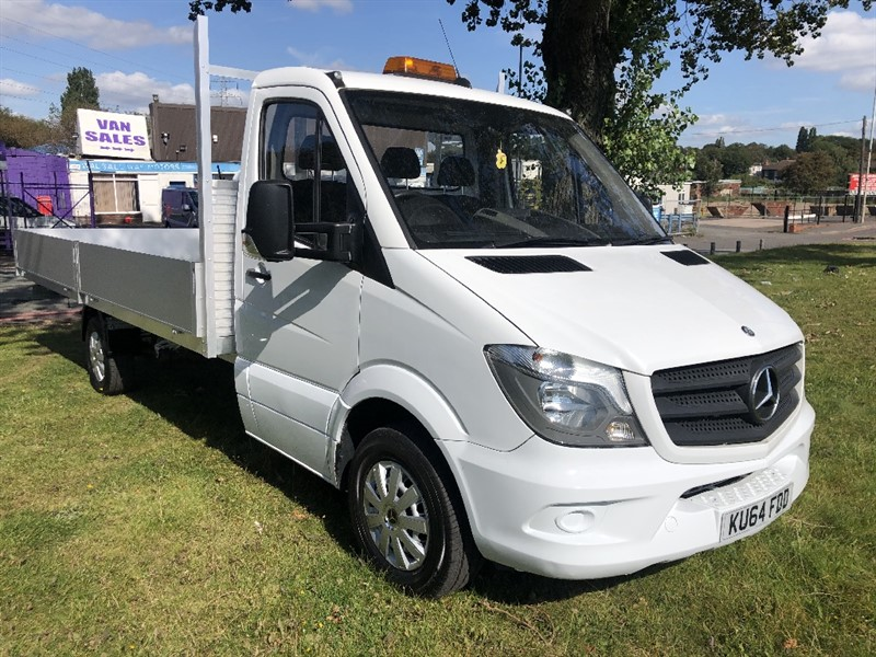 used Mercedes Sprinter 313Cdi 3.5T ***EXTRA LONG *** 17ft (5m.) Dropside 1 Owner in walsall