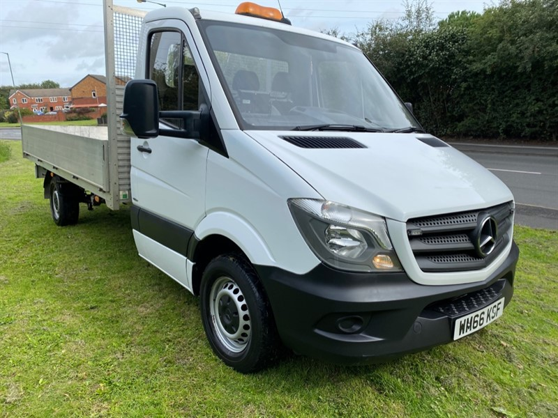 used Mercedes Sprinter 314Cdi 3.5t Euro 6 14ft (4m) Dropside Low Miles, Very Clean in walsall