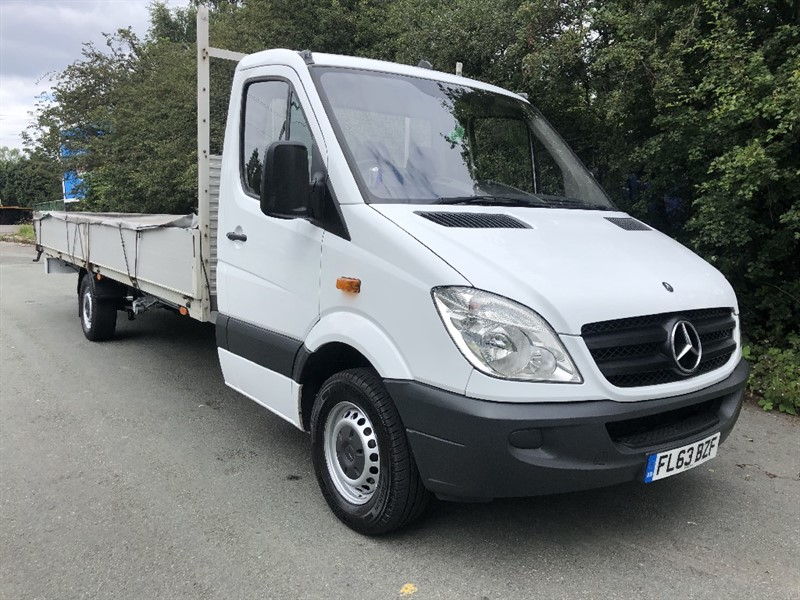 used Mercedes Sprinter 313Cdi 3.5T **EXTRA LONG** 20ft (6m) Dropside) in walsall