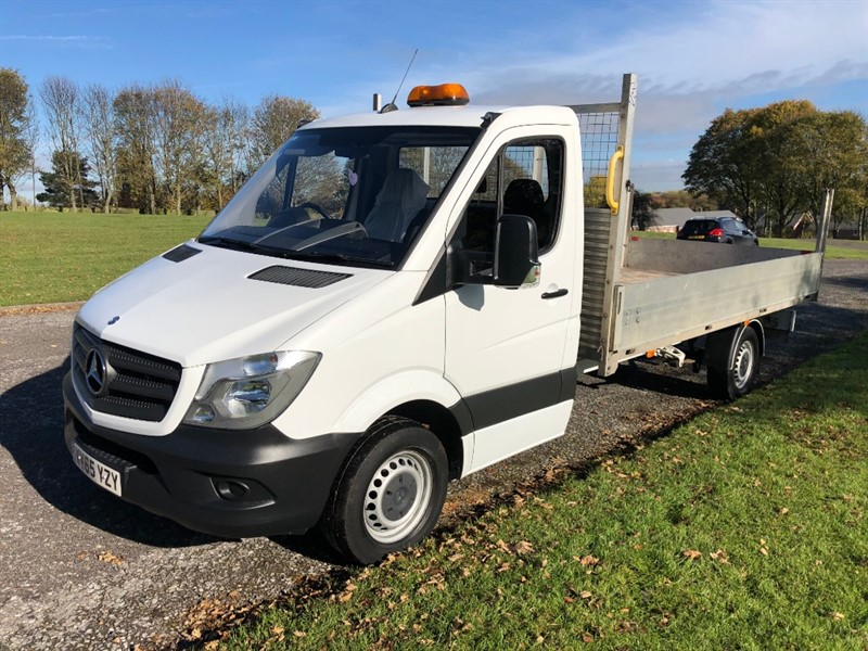 used Mercedes Sprinter 313Cdi 3.5T 13ft 6in Dropside in walsall