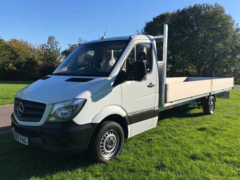 used Mercedes Sprinter 314Cdi Euro 6 EXTRA LONG 20ft Dropside, in walsall