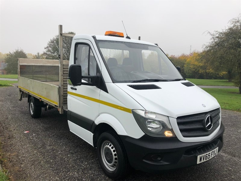 used Mercedes Sprinter 313Cdi 3.5T 13ft 6in Dropside Tail Lift, Very Clean in walsall
