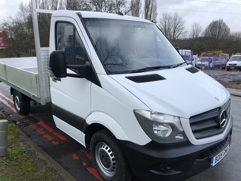used Mercedes Sprinter 313Cdi 3.5t New Build 14ft Dropside Body in walsall