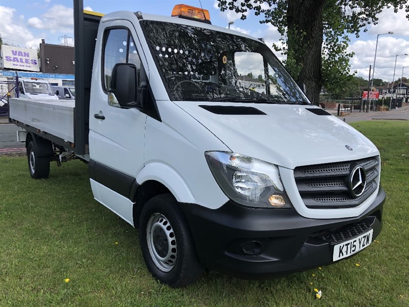 used Mercedes Sprinter 313Cdi 3.5T 14ft Dropside Only 18879 Miles From New in walsall