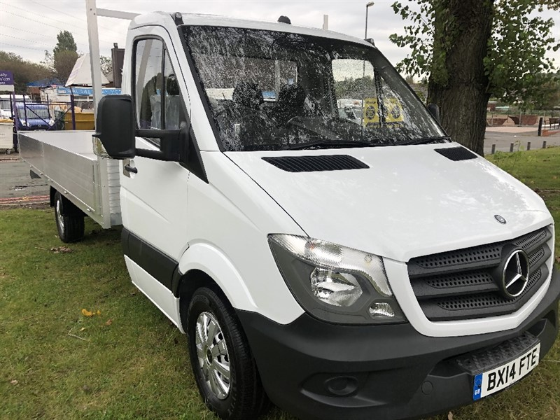 used Mercedes Sprinter 313Cdi 3.5T 17ft Dropside **New** Lightweight All Alloy Body in walsall