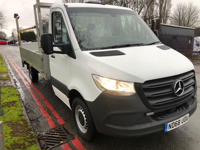 used Mercedes Sprinter 314Cdi 3.5T. Euro 6 14 ft Dropside Tail Lift in walsall