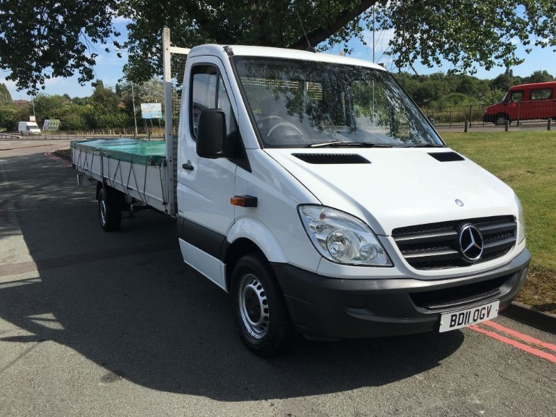used Mercedes Sprinter 313 3.5T 6m Body! 19FT 9INS LOAD LENGTH DROPSIDE in walsall