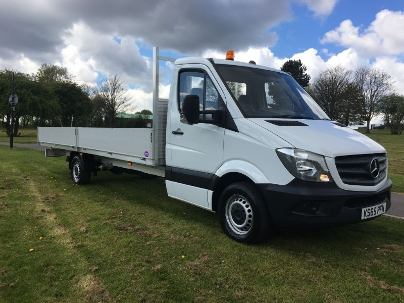 used Mercedes Sprinter 313 3.5T 20ft Dropside Extra Long 6 Metre Load Length 20ft in walsall