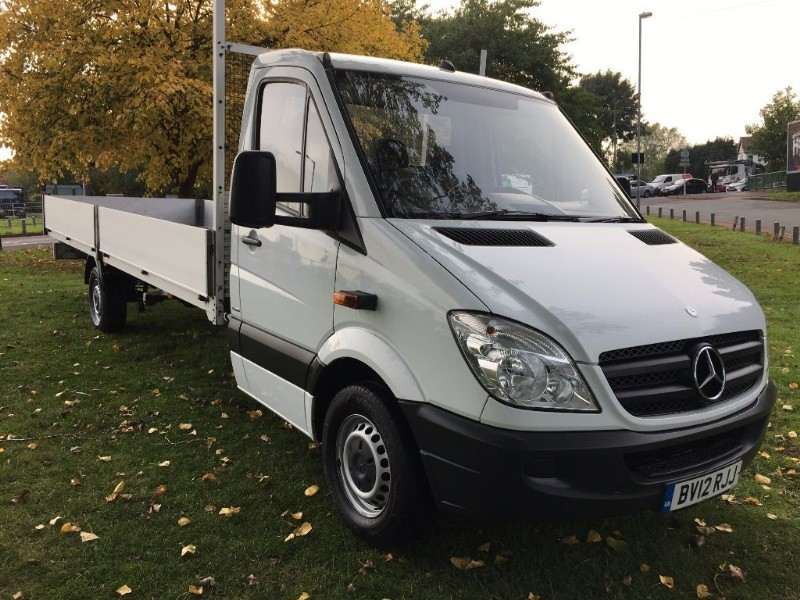 used Mercedes Sprinter 313 3.5T XLWB Extra Long 20ft Load Length Dropside in walsall
