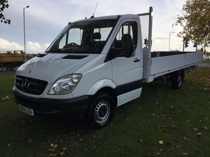 used Mercedes Sprinter 313 CDI ***EXTRA LONG *** 16ft (5m.) Dropside 1 Owner in walsall