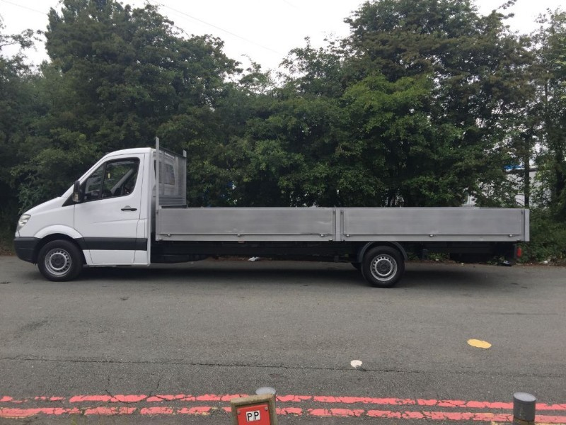 used Mercedes Sprinter 3.5T 20ft Dropside Extra Long 6 Metre Load Length 20ft in walsall