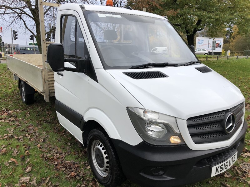 used Mercedes Sprinter 313Cdi 3.5T 14ft Dropside, Very Nice Condition in walsall