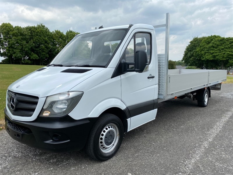 used Mercedes Sprinter 313 CDI 3.5T. 20FT EXTRA LONG DROPSIDE, NEW BODY in walsall