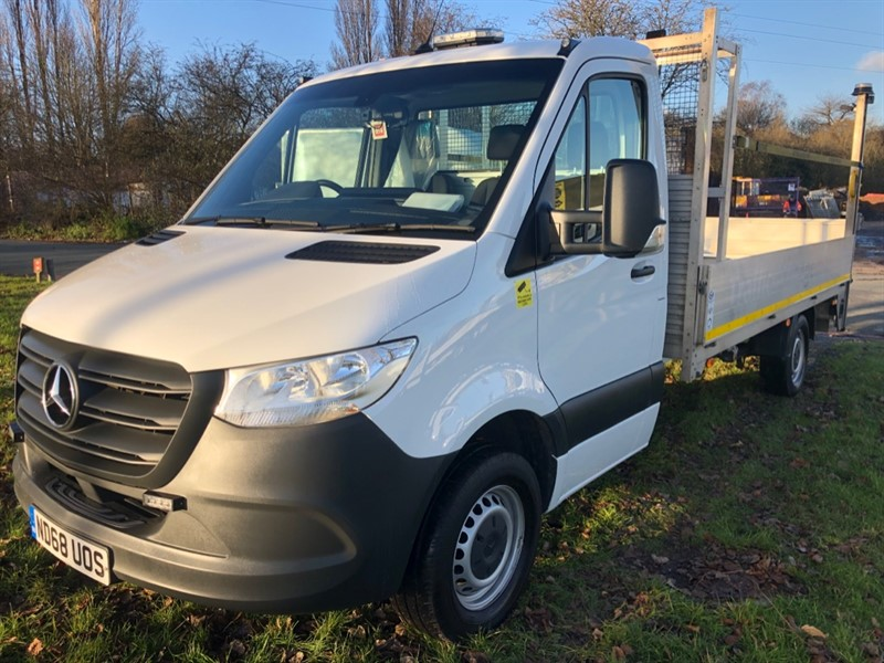 used Mercedes Sprinter 314Cdi Euro 6 14 ft Dropside Tail Lift in walsall