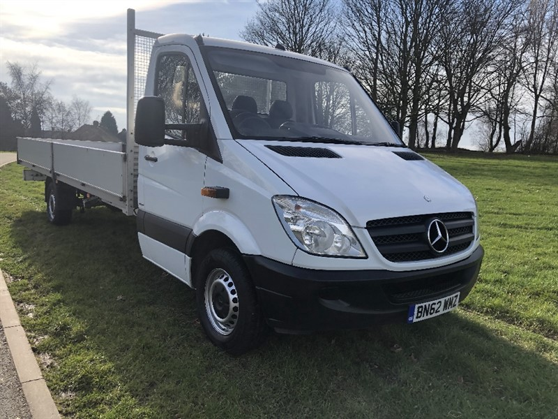 used Mercedes Sprinter 313 CDI ***EXTRA LONG *** 20ft (6m.) Dropside 1 Owner in walsall