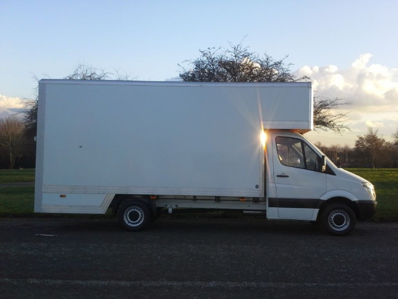 used Mercedes Sprinter 313 CDI LWB Dropwell Luton 16ft 130ps in walsall