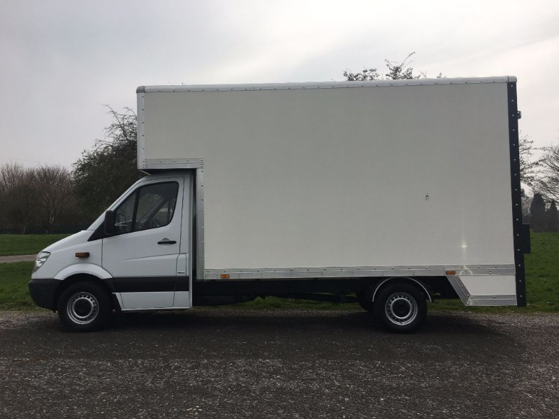 used Mercedes Sprinter 313 CDI LWB 913 cu.ft. Dropwell Luton 14ft 5ins 130ps  in walsall