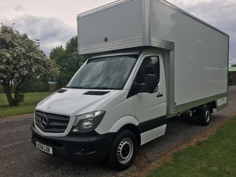 used Mercedes Sprinter CDI LWB Dropwell Luton 16ft 130ps in walsall