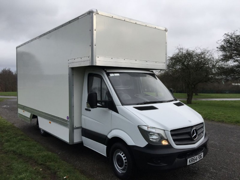 used Mercedes Sprinter 313Cdi 3.5T 16Ft Dropwell Luton New Extra Wide Body in walsall