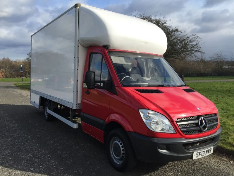 used Mercedes Sprinter 313Cdi 3.5T LWB 16ft Dropwell Luton Only 53763 Miles  in walsall