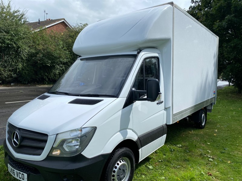 used Mercedes Sprinter 313Cdi 3.5t 14ft Luton Van With Tail Lift, Lovely Condition in walsall