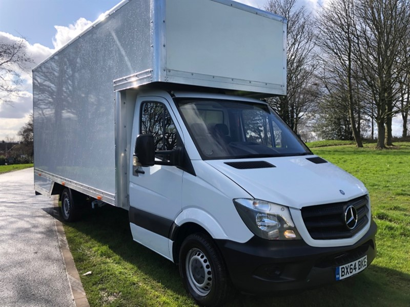 used Mercedes Sprinter 313Cdi 3.5t 17ft Dropwell Luton, Brand New Body Unused in walsall