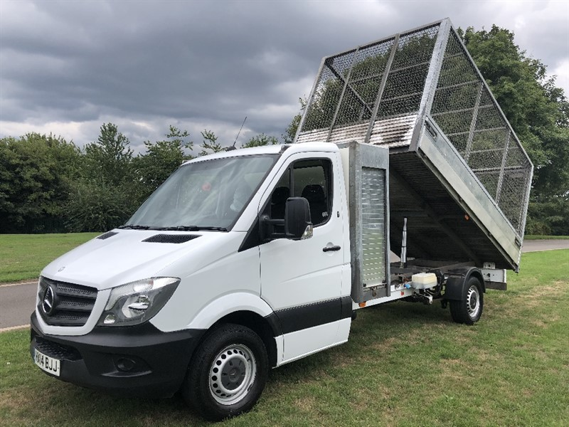used Mercedes Sprinter 313Cdi 3.5T Caged Tipper With Toolbox in walsall