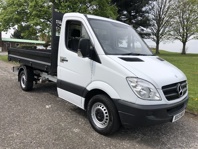 used Mercedes Sprinter 313Cdi 3.5T Tipper, Low Miles, Very Clean in walsall