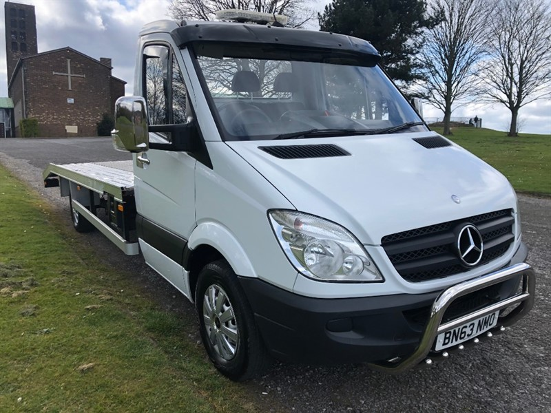 used Mercedes Sprinter 313Cdi 3.5T 16ft Recovery Vehicle, Brand New Body, Winch Etc., Low Miles in walsall