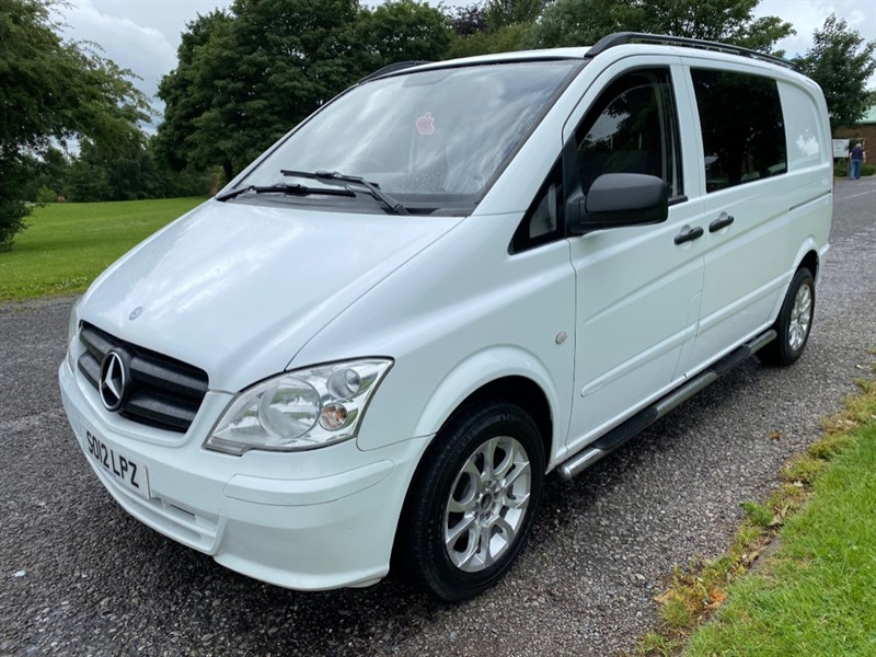used Mercedes Vito 113 CDI DUALINER 6 seats in walsall