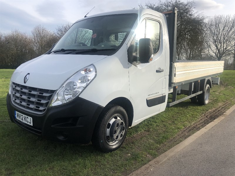 used Renault Master LLL35Twdci 3.5T 125ps 14ft Dropside, Only 38165 Miles in walsall