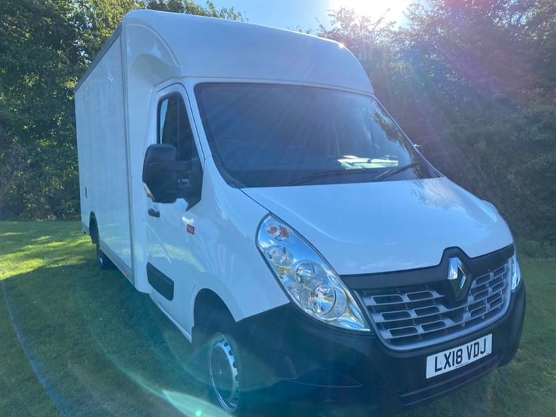 used Renault Master 3T5 3.5T 2.3Dci 130 Comfort Euro 6, 14ft Low Loader Luton Box Van, Air Con, Very Clean in walsall