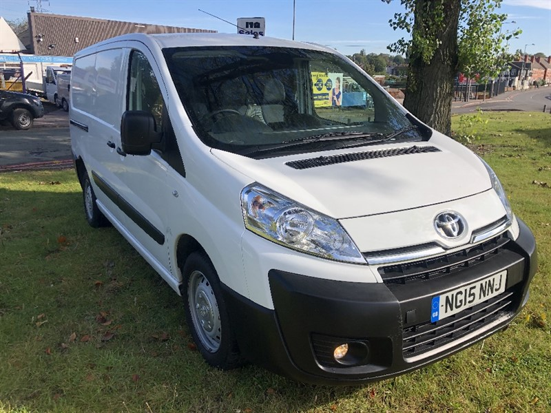 used Toyota Proace 1.6Hdi 120 L2H1 Lwb 90Hp, Only 26437 Miles From New in walsall