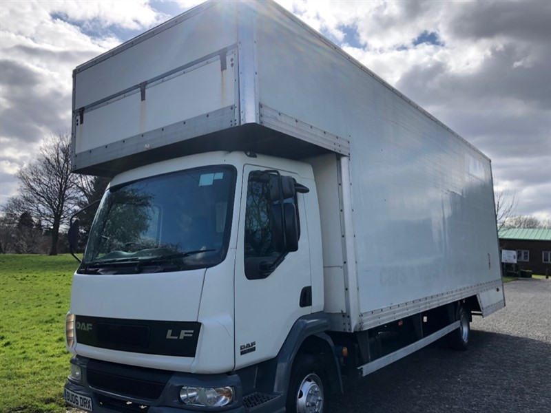 used DAF LF45 7.5t. 25ft Dropwell Luton, 2000cu ft, Low Miles in walsall