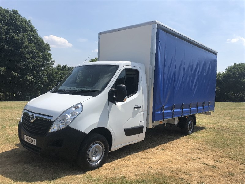 used Vauxhall Movano 3.5T Brand New 16ft Curtain Side Body in walsall