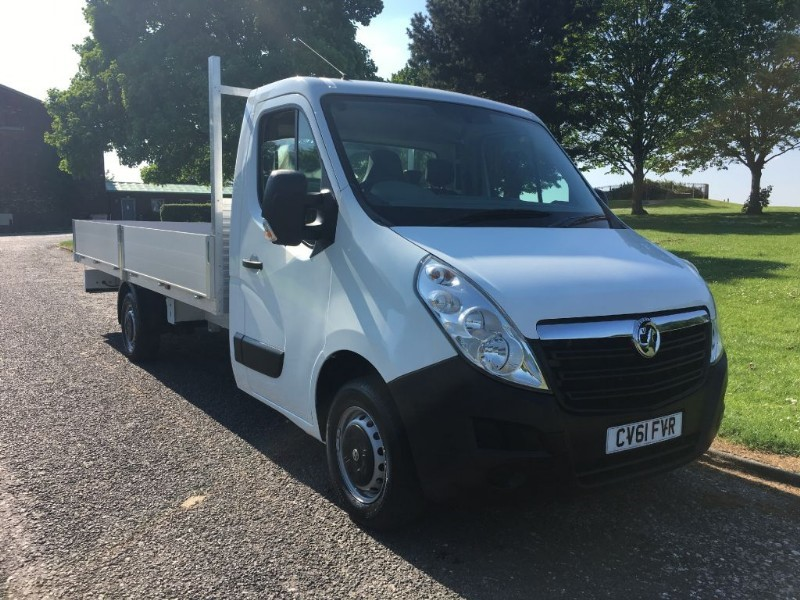 used Vauxhall Movano 3.5T 16ft Dropside Transit Extra Long 5 Metre Load Length 16ft in walsall