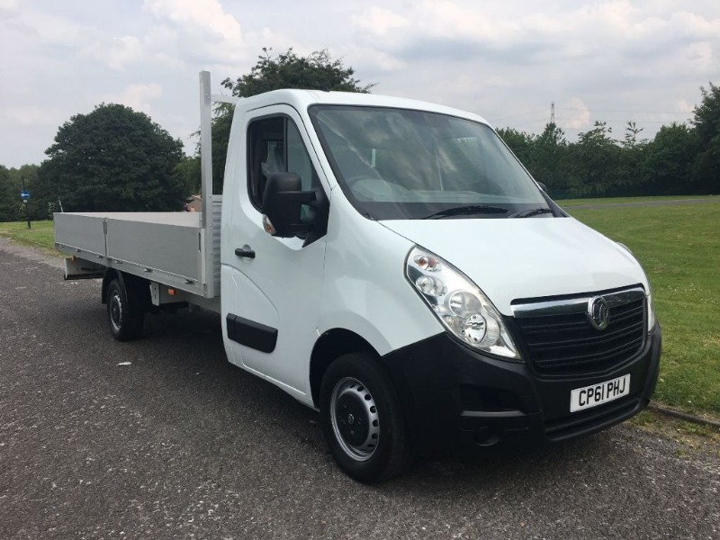 used Vauxhall Movano 16ft Dropside Transit Extra Long 5 Metre Load Length 16ft in walsall