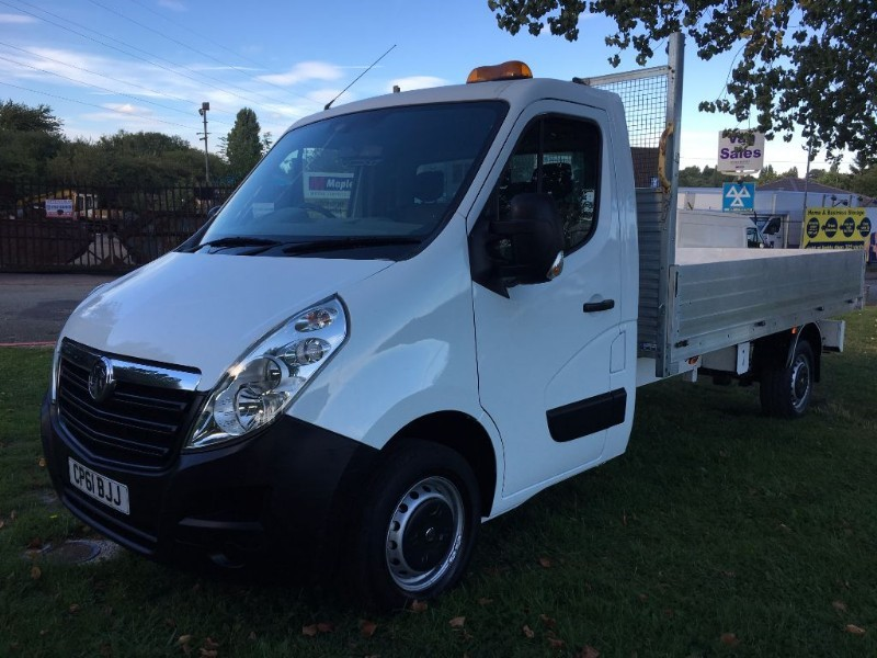 used Vauxhall Movano F3500 L3H1 CDTI DROPSIDE 12FT in walsall