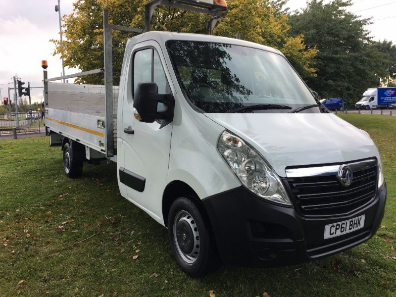 used Vauxhall Movano drop side 14ft F3500 L3H1 CDTI in walsall