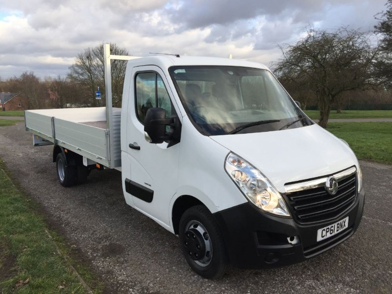 used Vauxhall Movano  DROPSIDE EXTRA LONG 5 METRE LOAD LENGTH 17ft in walsall