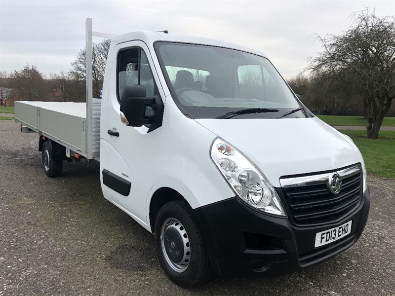 used Vauxhall Movano 3500 125 3.5T 2.3Cdti 5m 16ft Dropside in walsall